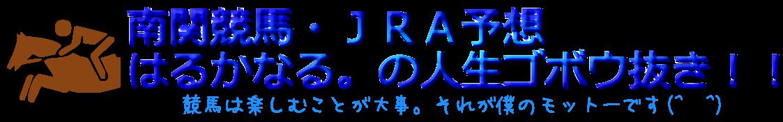 南関競馬・JRA予想/はるかなる。の人生ゴボウ抜き!!